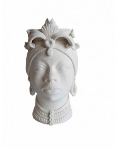 Testa Donna Africana - H30cm