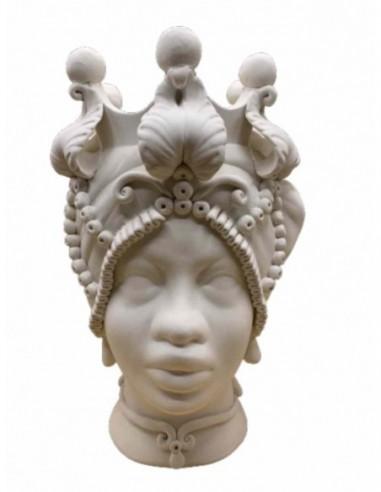 Testa Africana Con Gioielli Donna